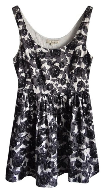 Twenty One Watercolor Floral Printed Pattern Fall Dress