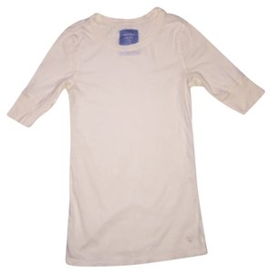 American Eagle Outfitters T Shirt Cream, white