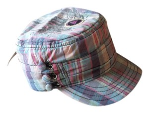 Plaid hat from the Rock and Roll Hall of Fame