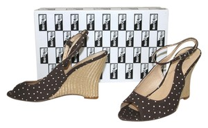 Navid O Nadia BROWN Wedges
