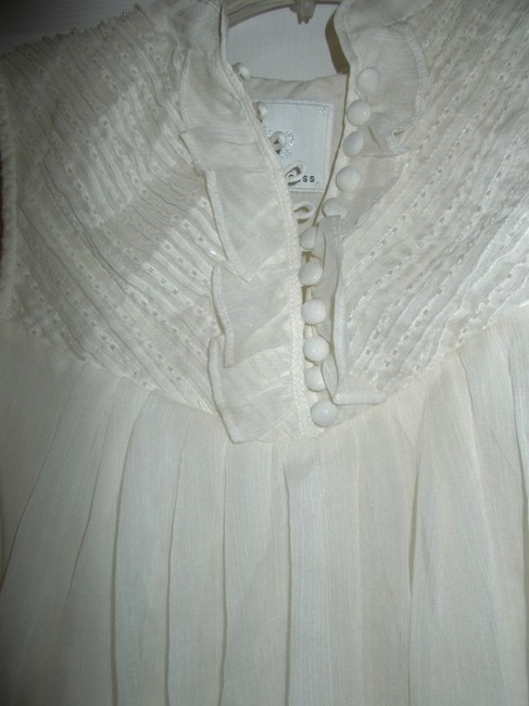 Bizz Princess Top Ivory