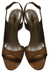 Nine West Nude brown Pumps