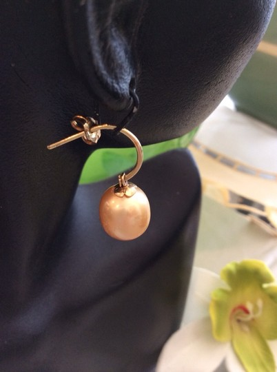 Other 14k South Sea Dangling Earring