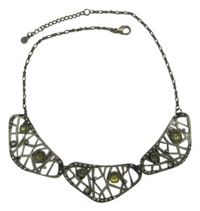 METAL NECKLACE WITH ACCENTS