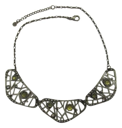 Preload https://img-static.tradesy.com/item/1153503/silvertone-yellow-metal-with-accents-necklace-0-0-540-540.jpg