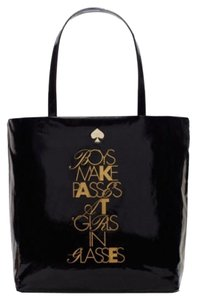 Kate Spade Tote in Black and gold