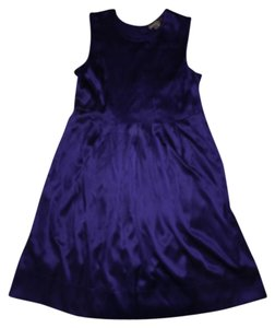 Vince short dress Purple on Tradesy