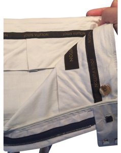 Louis Vuitton Straight Pants Cream