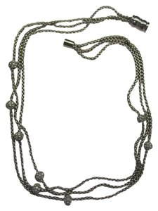 3 STRAND MAGNETIC CATCH NECKLACE