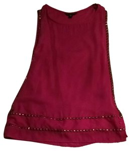 Rock & Republic Top Fuschia