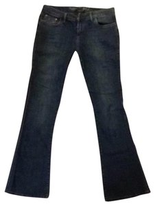 The Limited Flare Leg Jeans-Dark Rinse
