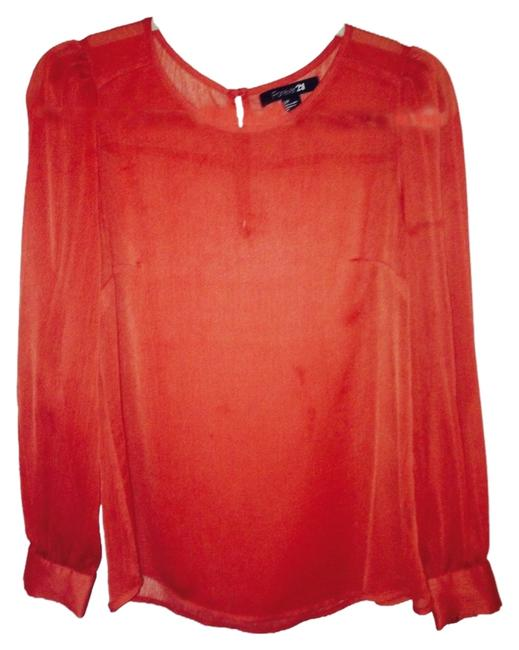 Preload https://item4.tradesy.com/images/forever-21-tomato-blouse-size-6-s-1153853-0-0.jpg?width=400&height=650
