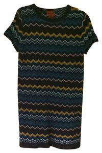 Missoni for Target short dress Multi-blue on Tradesy
