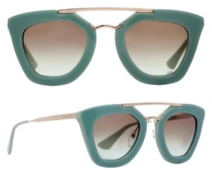 Prada NEW! PRADA CINEMA OPAL GREEN SUNGLASSES SPR09Q TKQ-4K1