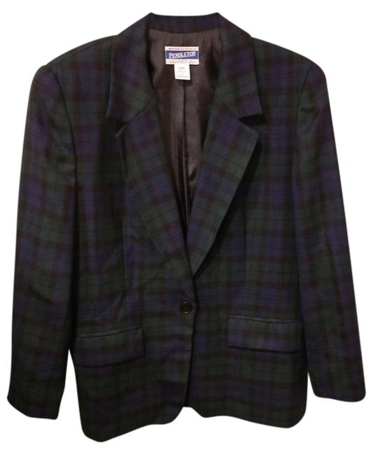 Preload https://item1.tradesy.com/images/pendleton-blue-and-green-tartan-blazer-size-8-m-1154040-0-0.jpg?width=400&height=650