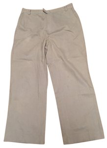 Banana Republic Wool Slacks Work Straight Pants Tan