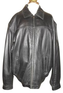 Colebrook & Co. Men's Leather black Leather Jacket