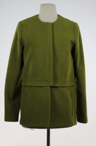 Doncaster Womens Basic Coat Med Wool Outer Green Jacket