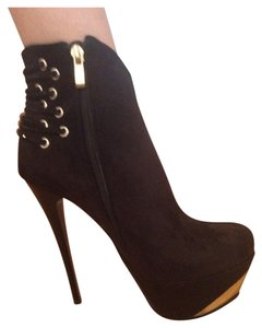 Luichiny Black With Gold Details Boots