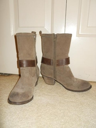 American Eagle Outfitters Leather Harness brown Boots