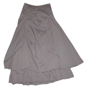 Joie Layered Gathered Skirt Brown