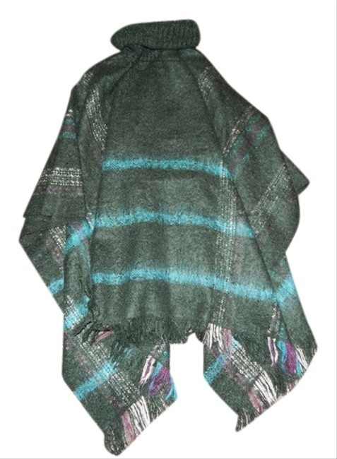 Renee's NYC Accessories Turtleneck Poncho Sweater