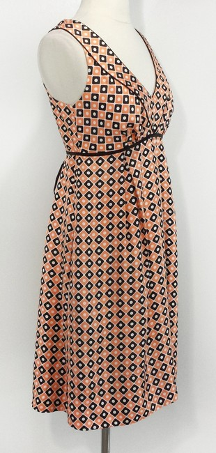 Shoshanna short dress Orange & Brown on Tradesy