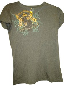 Empyre Clothing Large Fitted T Shirt Greyish Brown