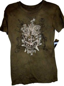 Hurley Juniors Large Lightweight T Shirt Army Green