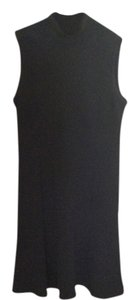 St. John short dress Black Vintage Knit Sleeveless Mock Turtleneck on Tradesy