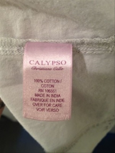 Calypso St. Barth short dress Greys on Tradesy