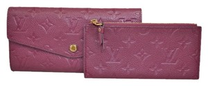 Louis Vuitton Louis Vuitton Aurore Empreinte Curieuse Wallet