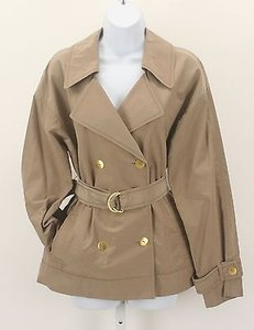 Ellen Tracy Gold Piece Taupe Jacket