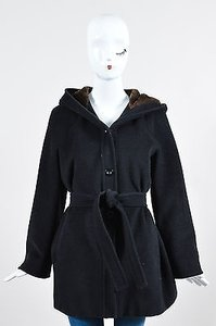Max Mara Wool Brown Coat