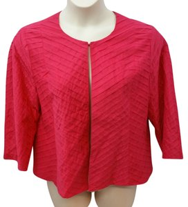 Chico's Pink Cotton Top DARK PINK
