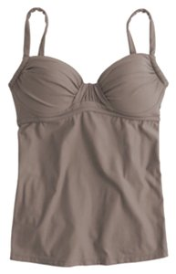 J.Crew J.crew D-CUP RUCHED FRENCH SWING TANKINI TOP