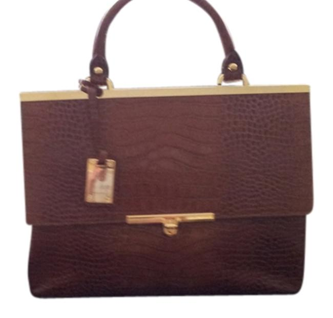 Item - Italian Handbag Brown Leather Satchel