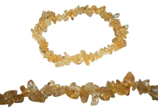 Preload https://item2.tradesy.com/images/yellow-citrine-set-gemstone-chips-necklace-and-bracelet-1155151-0-0.jpg?width=440&height=440