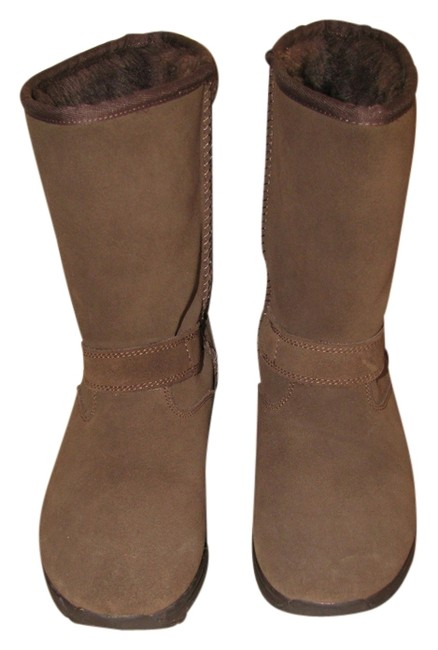 Item - Brown Shape-ups Boots/Booties Size US 6 Regular (M, B)