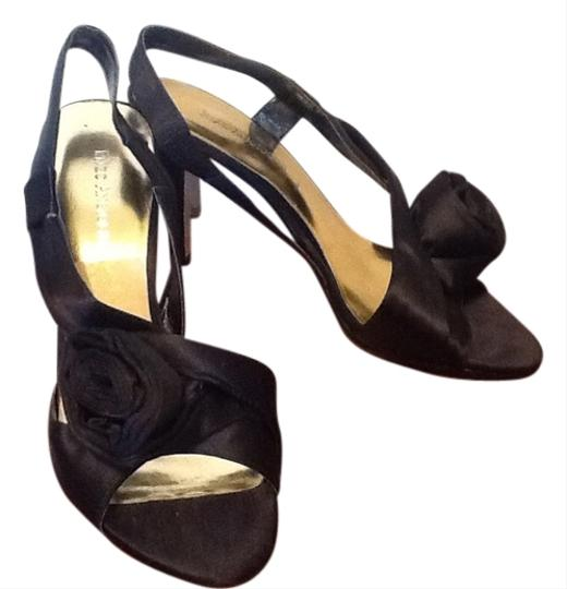 Enzo Angiolini Satin Black Formal