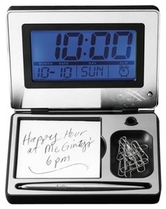 Things Remembered Personalized Digital Clock Desk Gift Set