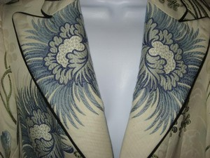 Scalamandre Fabric Blues/Greens/Ivory Blazer