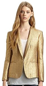 Rag & Bone And And Tuxedo Gold Blazer