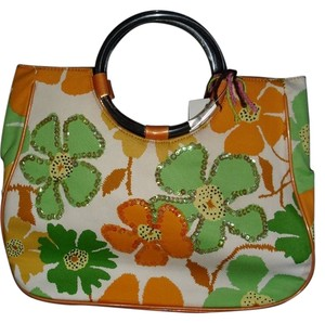 Other Satchel in Orange and Green