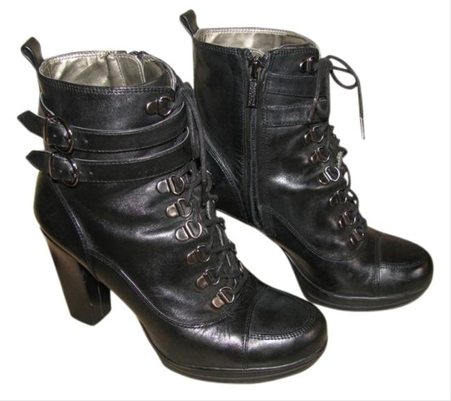 Kenneth Cole Reaction Black Lead Actress Boots/Booties Size US 6 Regular (M, B) Image 1