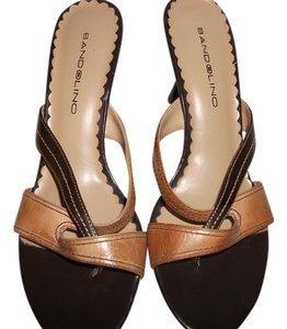 Bandolino brown/tan Sandals