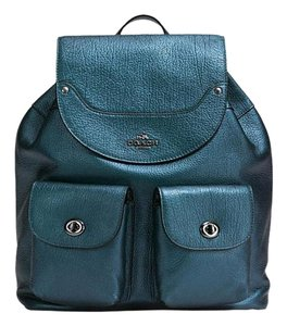 Coach Blue Backpack