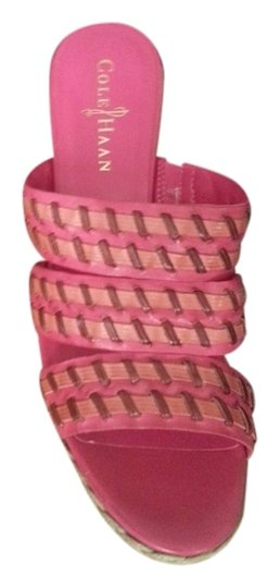 Cole Haan hot pink Mules