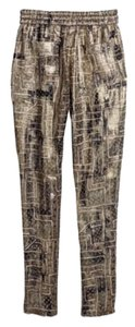 Isabel Marant Relaxed Pants Gold