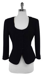 Armani Collezioni Black Fitted Jacket